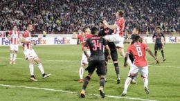 crvena-zvezda-arsenal-red-star-europa-league-giroud-savic-2017
