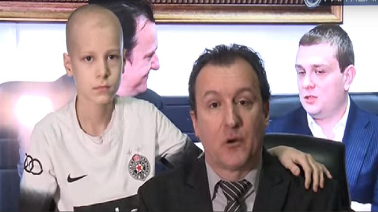 Isajia Pantić sa ocem Željkom
