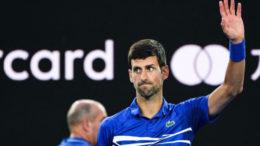 Favorit broj 1.... Novak Đoković
