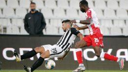 Partizan-Crvena zvezda-Miloš Jojić-Seku Sanogo-Večiti derbi-Derbi-Superliga Srbije